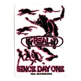 【POWELL PERALTA】パウエル ペラルタ【Lance Mountain Sticker Pink】H 11.5cm x W 8.9cm【SKATEBOARD】スケボー【ステッカー】BONES BRIGADE【ネコポス対応可】