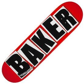 【BAKER】ベイカー【Brand Logo Black Deck Steep Concave】7.88inch【SKATEBOARD】スケボー【デッキ】板【スケート】送料無料