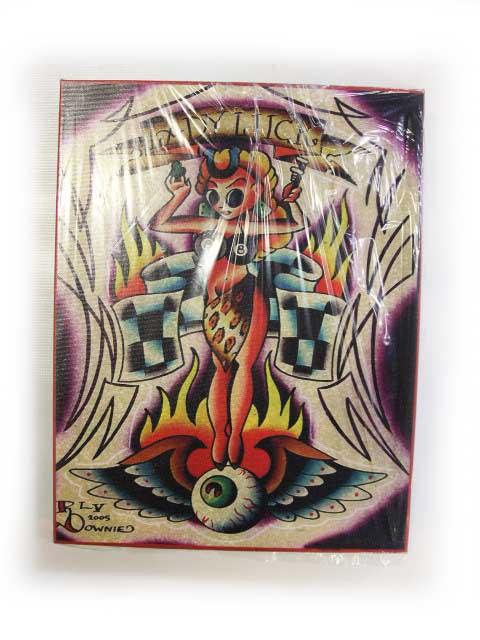 【BLACK MARKET ART COMPANY】ブラックマーケットアートカンパニー【Lady Luck】Art by Ryan Downie【キャンバスアート】アートボード