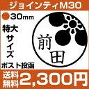 【定型外郵便送料無料】イラストスタンプ ジョインティ M30 (スタラボver(家紋シリーズ)(直径30mm)特大サイズ イ…