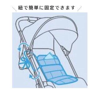 保冷シートベビー大人気!BabyHopper(ベビーホッパー)ベビーキャリア&ベビーカー兼用保冷・保温シート(ブルースター)ダッドウェイDADWAY暑さ対策熱中症対策赤ちゃんのお出かけを快適に♪