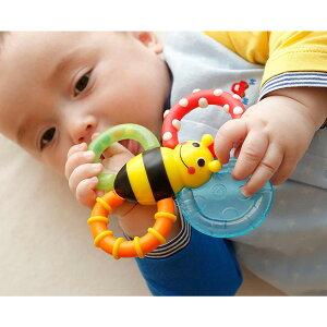 【あす楽】カミカミみつばちSassyサッシーラトルガラガララトルバンブルバイツベビー赤ちゃんおもちゃ知育玩具かわいい歯固めティーザー出産祝いギフトプレゼント男の子女の子赤ちゃん安全0歳3ヶ月6ヶ月