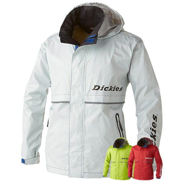 Dickies ディッキーズ レインウェア D-3505 レインジャケット レインスーツ 合羽 カッパ 透湿 防水 梅雨 夏フェス 作業着 作業服