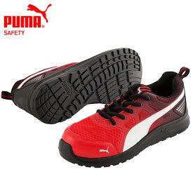 安全靴 PUMA プーマ スニーカー マラソン・レッド・ロー 643360 JS AA A種 衝撃吸収 4E 送料無料!【一部地域除く】