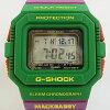 "CASIO""G-SHOCK""G-5500MD-3JR MACKDADDY绿色/紫[卡西欧G打击G-SHOCK2 makkudadikorabomoderu]"