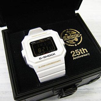 "CASIO G-SHOCK The-G GW-5525B 25th Anniversary""Rising White""[卡西欧G打击25周年G-SHOCK2型号]"