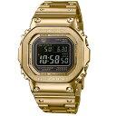 "CASIO ""G-SHOCK"" GMW-B5000GD-9JF ゴールドフルメタル 反転液晶 Gショック[カシオ Gショック スピードモデル 電波ソーラー腕時計 Bl…"