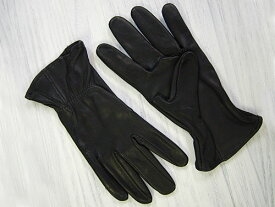 J. Churchill Glove Co. DEERSKIN LEATHER GLOVE ブラック [ジェームスチャーチル ディアスキン レザーグローブ 鹿革手袋]