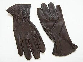 J. Churchill Glove Co. DEERSKIN LEATHER GLOVE ブラウン [ジェームスチャーチル ディアスキン レザーグローブ 鹿革手袋]