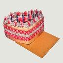 """TMOD """"BIRTHDAY CAKE HAT""""バースデーケーキハット[ティモッド ヘッドアクセサリー型 メッセージカードケーキ帽]"""