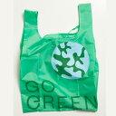 "WOOD'D ""GO GREEN BAG""Reusable Polyester Bag「レジ袋要りません。から始めてみませんか?」地球にちょっとだけ優しいこと。WOOD'Dが…"
