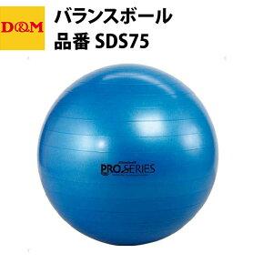 D&M ディーエム エクササイズボール 75cm SDS75 バランスボール 自宅 運動 宅トレ 家トレ 筋トレ tr20ss