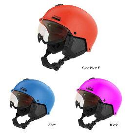 19-20 MAKER マーカー VIJO ヴィジョ バイザー付きモデル ユース ジュニア キッズ ヘルメット スキー スノーボード*