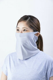 NESK ネスク UVカット99% 夏用ファイスマスク スポーツ SPORTS NKSP-03F紫外線予防 夏用マスク 吸水 速乾 ストレッチ素材カラー:グレー サイズ:フリー@