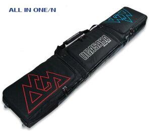 21-22 予約商品 OGASAKA オガサカ スキーケース ALL IN ONE オールインワン スキーバッグ 175cmまで SKI CASE BAG@