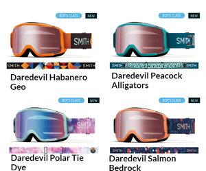 20-21 アジアンフィット SMITH スミス ゴーグル Daredevil デアデビル 全米ヒット商品 メガネ対応のユースモデル サイズと機能にこだわったモデル スキー スノーボード