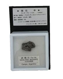 カンポ・デル・シエロ鉄いん石(中)6.9g以下