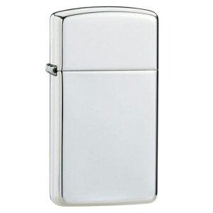 ZIPPO ライター 純銀製 #1500 スリム 鏡面ポリッシュ ツヤ有り加工 スターリングシルバー925 (銀無垢 ジッポライター)