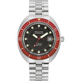 BULOVA 96B343 ブローバ Oceanographer ダイバー オートマ デビル 自動巻 メンズ ウォッチ 時計【ベルト調整無料】
