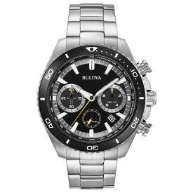 BULOVA PRECISIONIST 98B298ブローバ メンズ ウォッチ 腕時計 ブラック【送料無料】【ベルト調整無料】【smtb-KD】