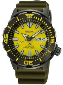 セイコー SEIKO PROSPEX SRPF35 プロスペックス オートマ 自動巻 ダイバー メンズ ウォッチ 腕時計 200m防水 イエロー