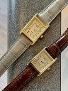 【即納可能】【あす楽】日本未発売 逆輸入 SEIKO セイコー ソーラー レディース 角 ウォッチ 腕時計 ゴールド レザーベルト グレージュ…