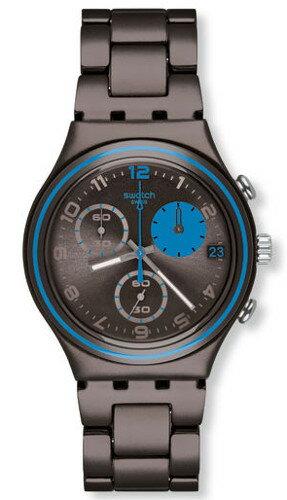 SWATCH YCM4003AG IRONY スウォッチ クロノグラフ ウォッチ 腕時計 時計 メンズ アルミニウム【送料無料】【代引手数料無料】【ベルト調整無料】