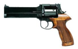 マルシン マテバリボルバー/6mm/X/SV/4インチ/ブナ製木グリ