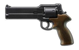 マルシン マテバリボルバー/6mm/X/SV/6インチ/ブラックラバー塗装プラグリップ