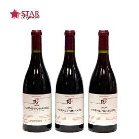 ルネ・アンジェル ヴォーヌ ロマネ 3本セット [1998] [1999] [2000] 赤ワイン 750ml×3本 赤ワイン3本セット