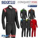 Sparco/スパルコ レーシングスーツ 4輪用 CONQUEST R-506/コンクエスト 国内限定カラー FIA2000公認