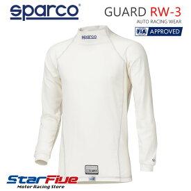 スパルコ アンダーウェア 耐火シャツ 4輪用 GUARD RW-3(ガード)FIA2000公認 SPARCO