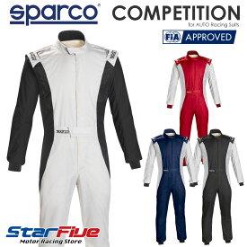 スパルコ レーシングスーツ 4輪用 COMPETITION(コンペティション) FIA2000公認 2020年モデル SPARCO(サイズ交換サービス)