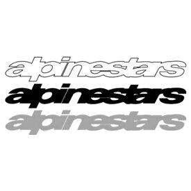 アルパインスター ロゴステッカー Sサイズ