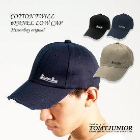 キャップ 6パネルキャップ ダメージ メンズ レディース 帽子 CAP ツイル UVカット 日よけ ロゴ サーフ ストリート アメカジ ベースボールキャップ 野球帽 サーフブランド サーフカジュア