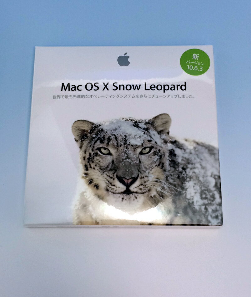 MAC OS X 10.6.3 SNOW LEOPARD スノー レオパード