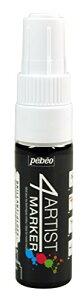 Pebeo 不透明油性ペイントマーカー 4アーティスト マーカー 8mmチズル ホワイト