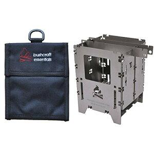 アウトドアクッカー Bushbox/ブッシュボックス LF チタン アウトドアーストーブ 専用ケースセット