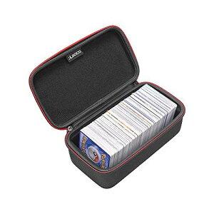 【改善版】RLSOCOポケモントレーディングカード収納ケース スリーブ収納可能 Pokemon Trading Cards、デュエル・マスターズ、遊戯王OCG等対応 カードを500収納できます (スリーブ入れる余裕がある