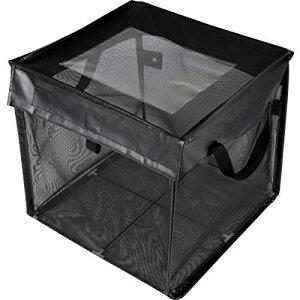 ACMETOP ゴミネットボックス 屋外用収納ゴミネットボックス カラスよけ 野良猫よけ ゴミ荒らし防止 ゴミ飛散防止 ゴミ収集ボックス 大容量 高強度ネット 軽量 折り畳み 簡単組立 撥水性 水洗