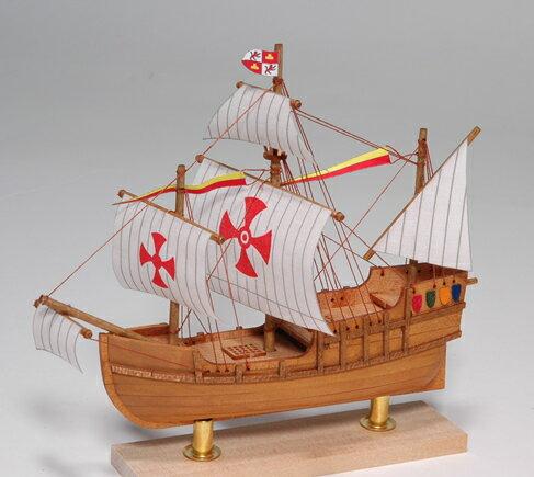 ウッディジョー 木製帆船模型 ミニ帆船 サンタマリア