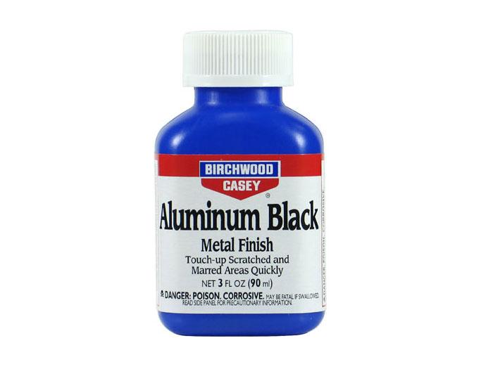 【ネコポス送料無料】 バーチウッド アルミニウムブラック メタルフィニッシュ アルミ用 ガンブルー液 90ml 【代引き不可、他商品との同梱不可】
