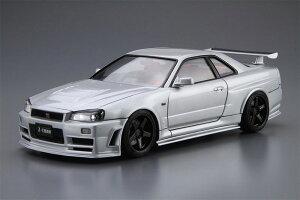 1/24 ザ・モデルカー No.34 ニスモ BNR34 スカイラインGT-R Z-tune '04