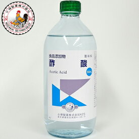 酢酸 500mL 【 小堺製薬 】