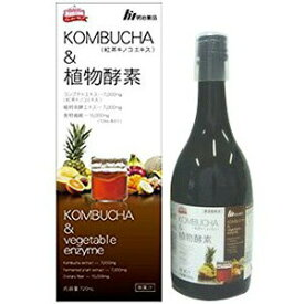 KOMBUCHA&植物酵素(コンブチャ&植物酵素) 720mL 【 明治薬品 】[ サプリ サプリメント 酵素 酵母 健康維持 美容 ダイエット おすすめ ]
