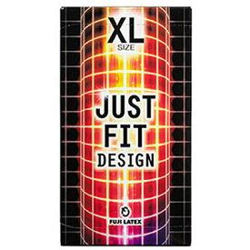 ジャストフィット XLスーパーラージサイズ 12個 【 不二ラテックス 】[ アダルト 避妊具 コンドーム 薄い 装着感 おすすめ ]