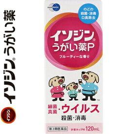塩野義製薬 イソジンうがい薬P 120mL (第3類医薬品)