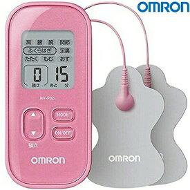 低周波治療器 HV-F021-PK ピンク 1台 【 オムロン 】[ お灸 もぐさ 磁気治療器 ツボ 首 肩こり 頭痛 冷え症 美容 ダイエット ]