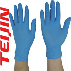 ソフトニトリル手袋 ブルー NBR-PF8BS Sサイズ 100枚 【 帝人フロンティア 】[ 掃除用品 手袋 てぶくろ 使い捨て ゴム手袋 ]