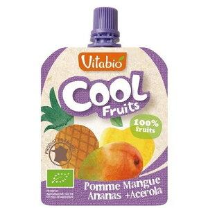 ヴィタビオ クールフルーツ アップル・マンゴー・パイナップル 90g ( ヴィタビオ vitabio )